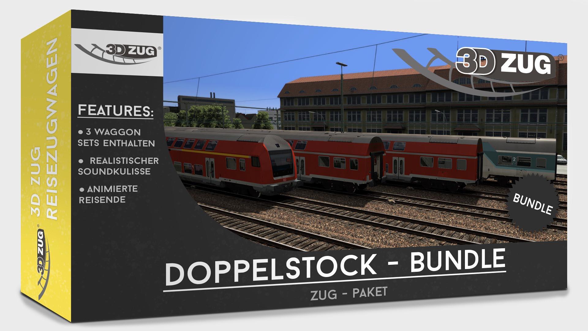 Double-deck coaches Bundle