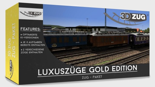 "Luxury trains ""Gold Edition"""