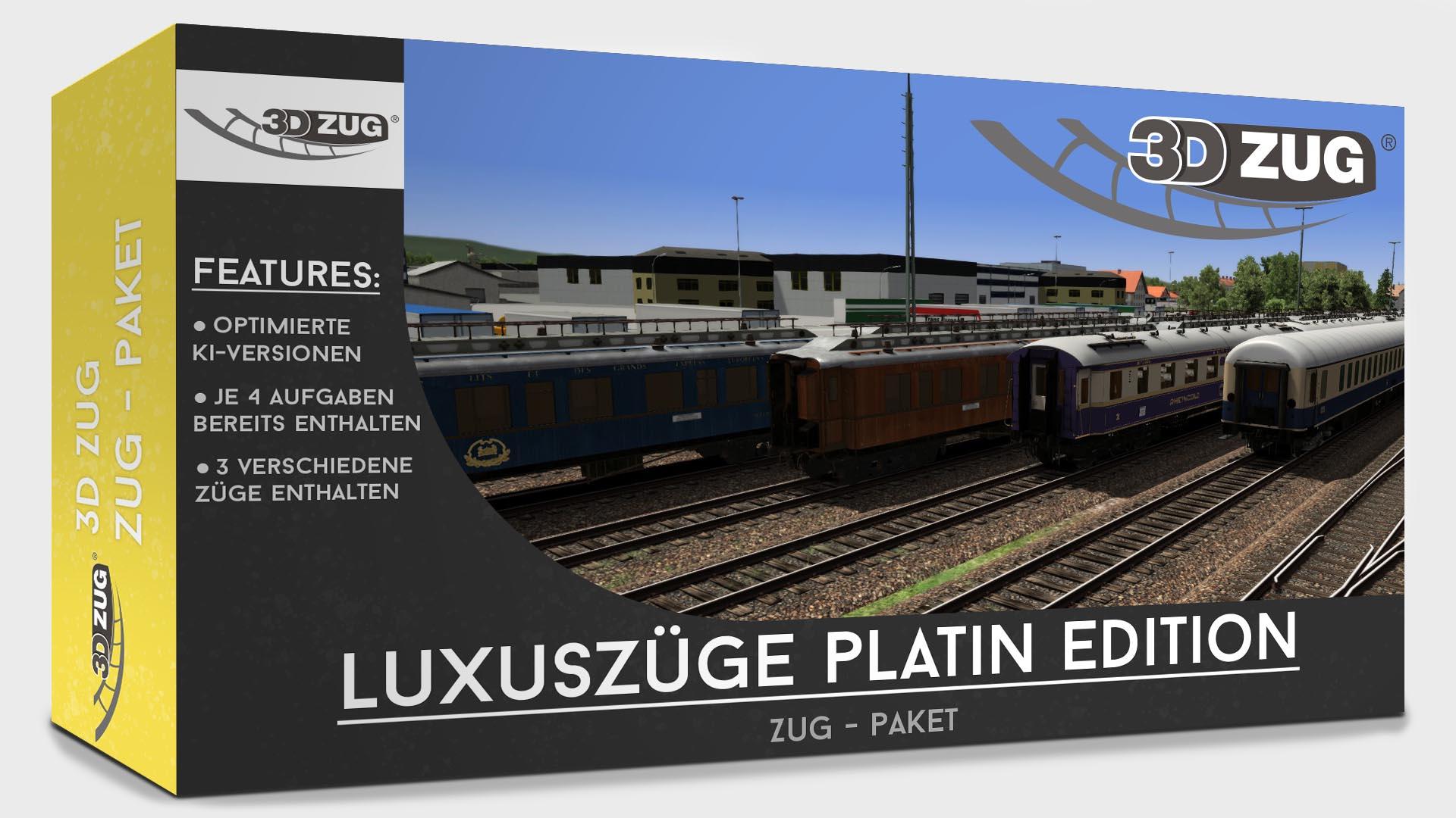 "Luxury trains ""Platin Edition"""