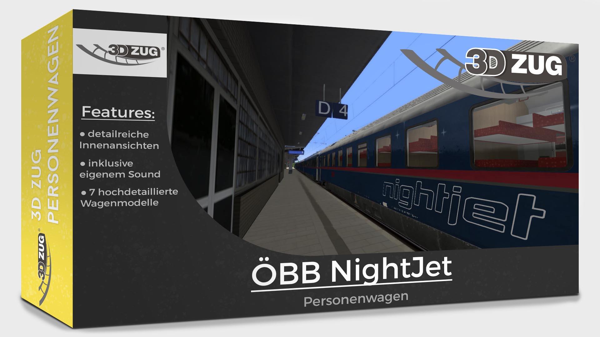 "3DZUG ""OEBB NightJet"""