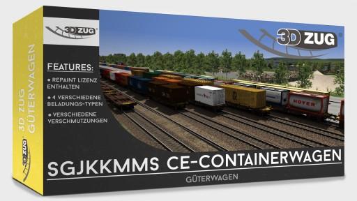 Sgjkkmms CE-Containerwagen