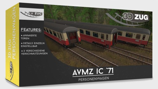Trainz: Avmz INTERCITY 71
