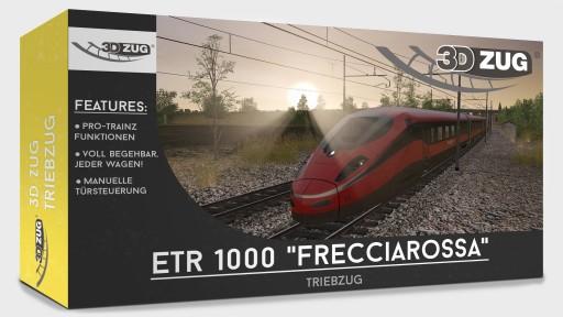 "Pro Trainz® ETR 1000 ""Frecciarossa"""