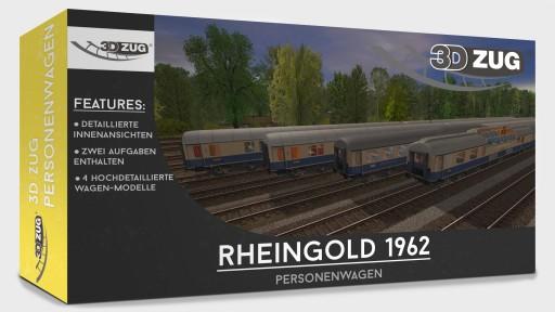 Trainz: Rheingold 1962