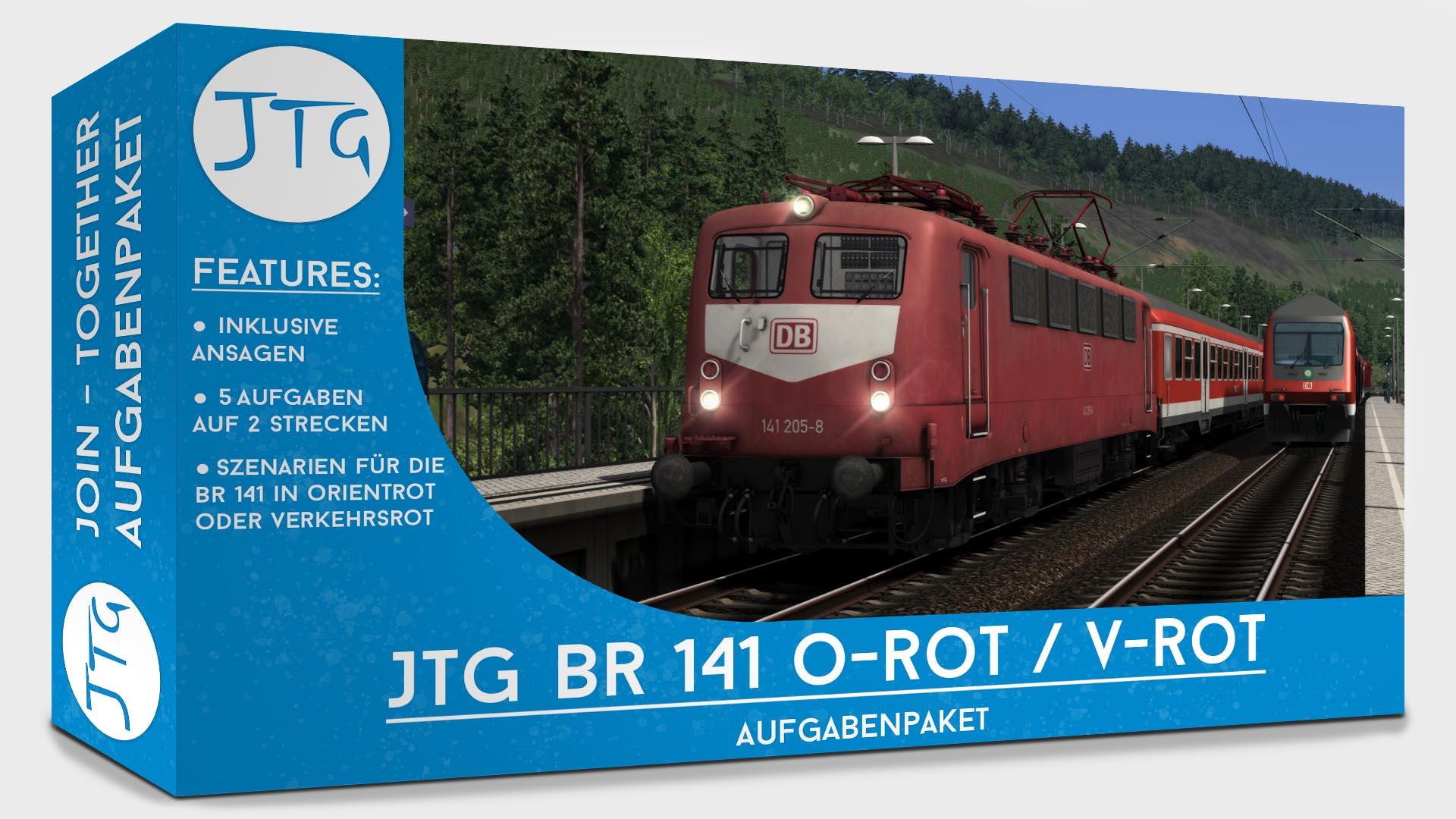 JTG BR141 Scenario Package ORed / VRed