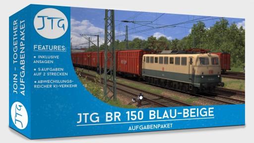 JTG BR150 Scenario Package Blue-Beige