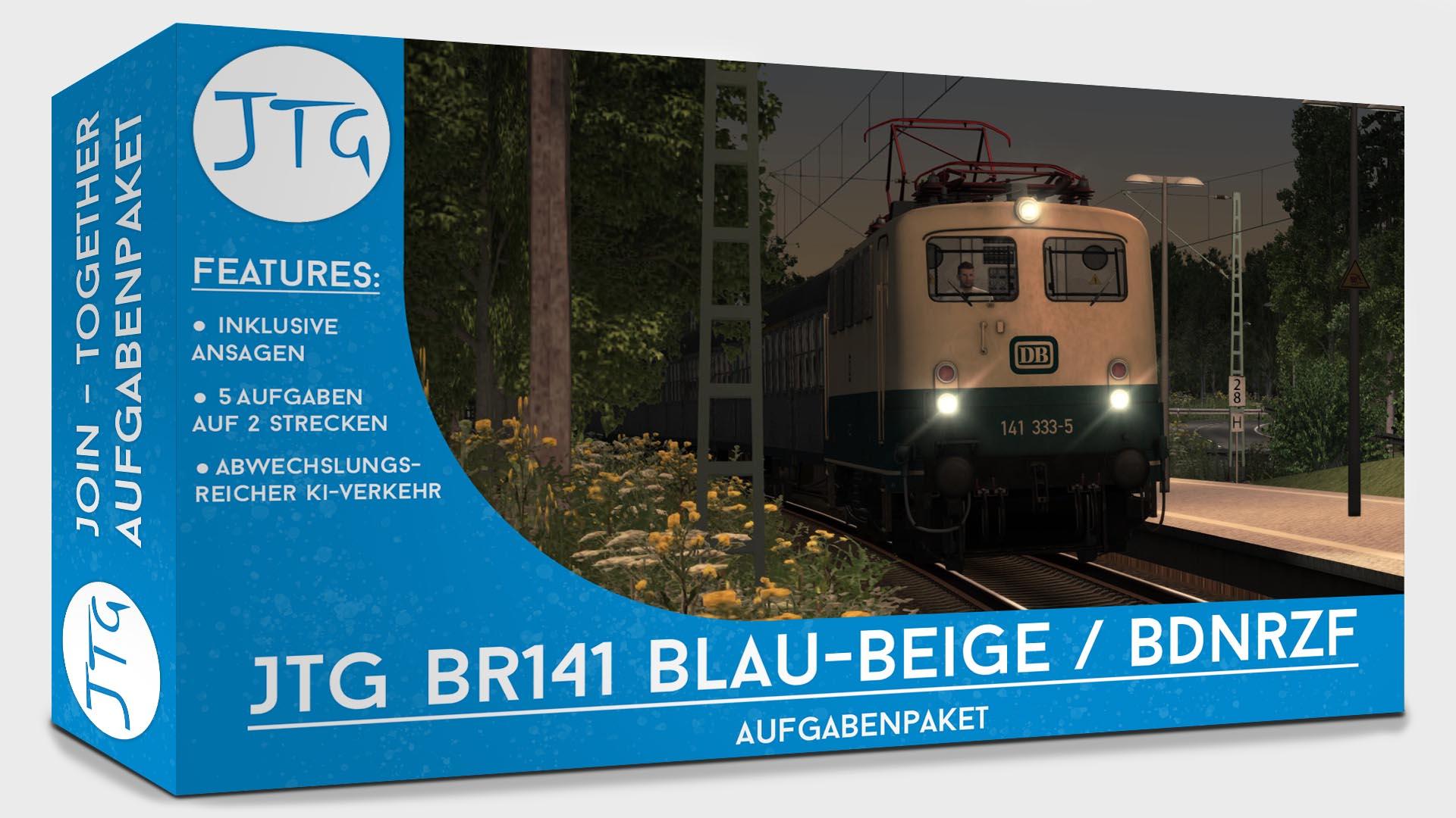 JTG BR141 Blau-Beige/BDnrzf Scenario Package