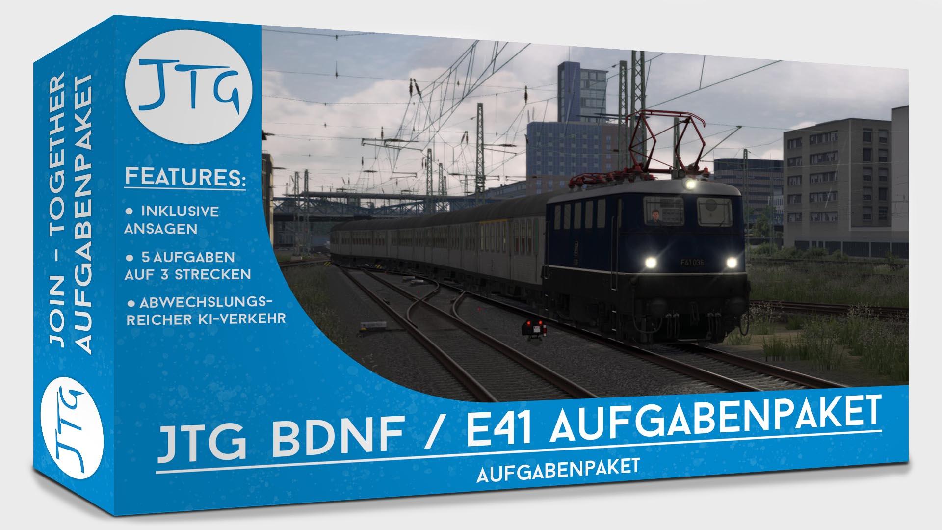 JTG BDnf / E41 Scenario Package