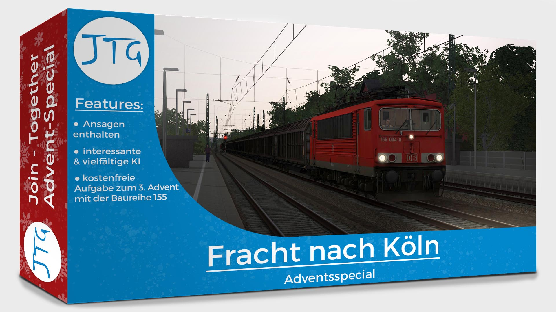 JTG - Freight to Cologne - Free Scenario for the 3rd Advent
