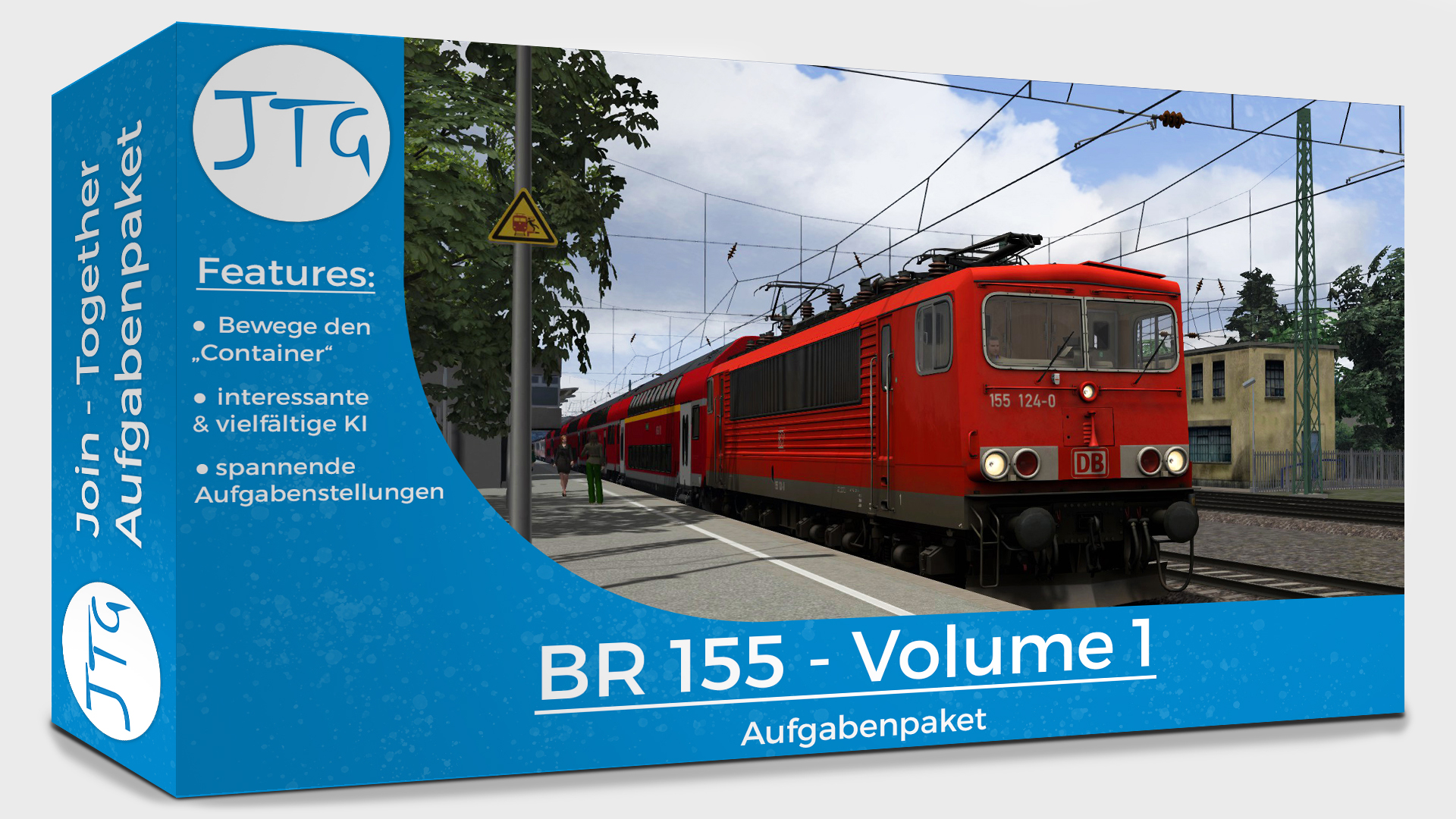 JTG BR155 Scenario Package Vol. 1
