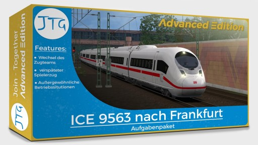 JTG Advanced Edition - ICE 9563 to Frankfurt