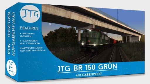 JTG BR150 Green Scenario Package