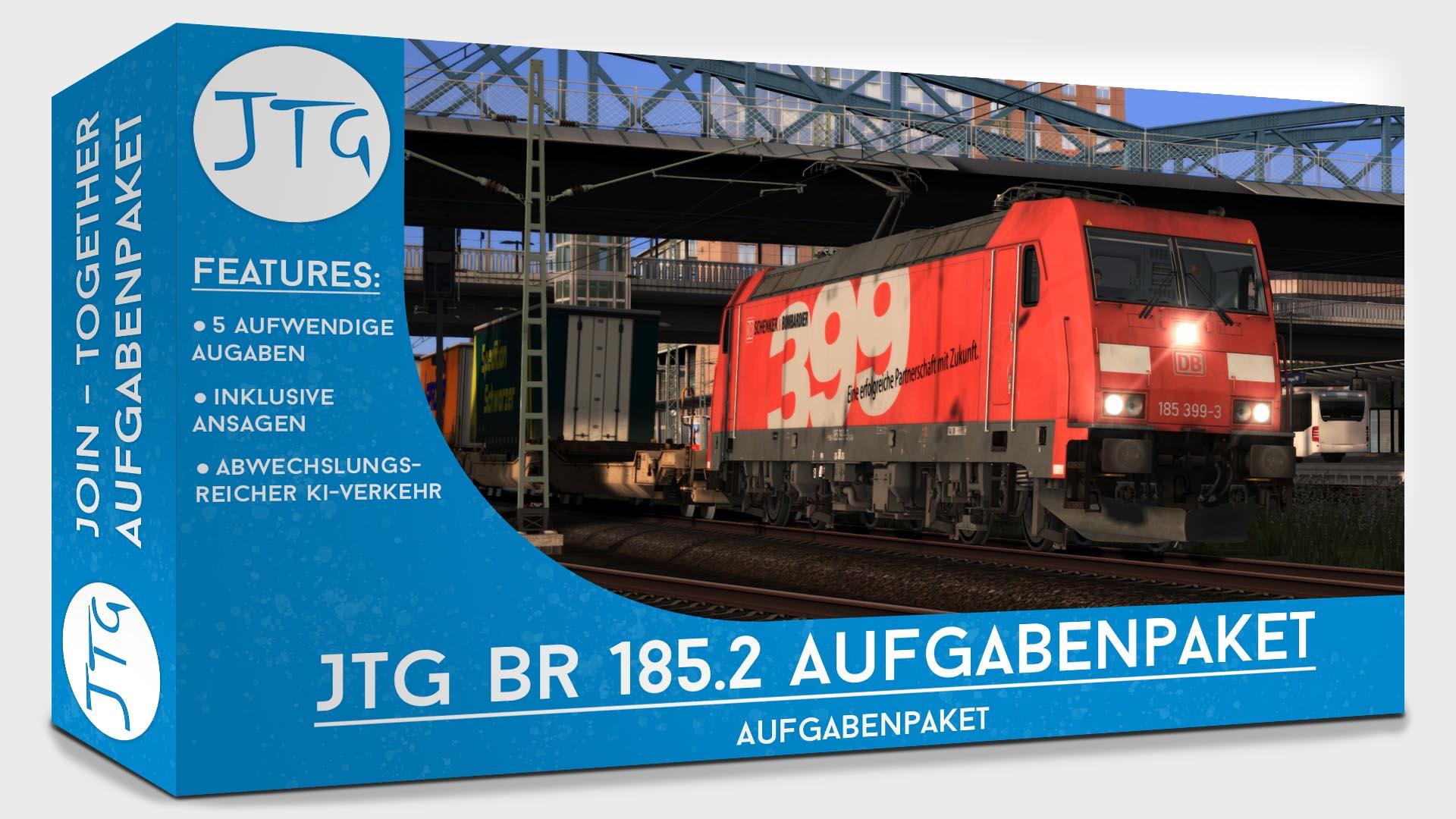 JTG vR BR185.2 Scenario Package