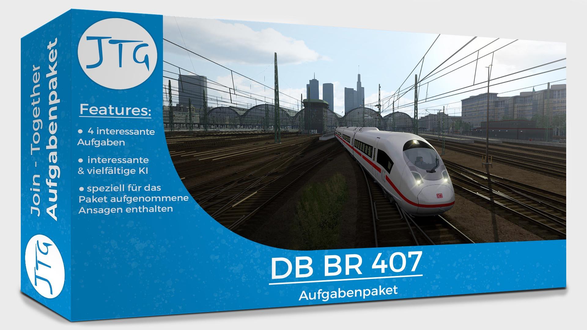 JTG BR 407 Scenario Pack Vol. 1