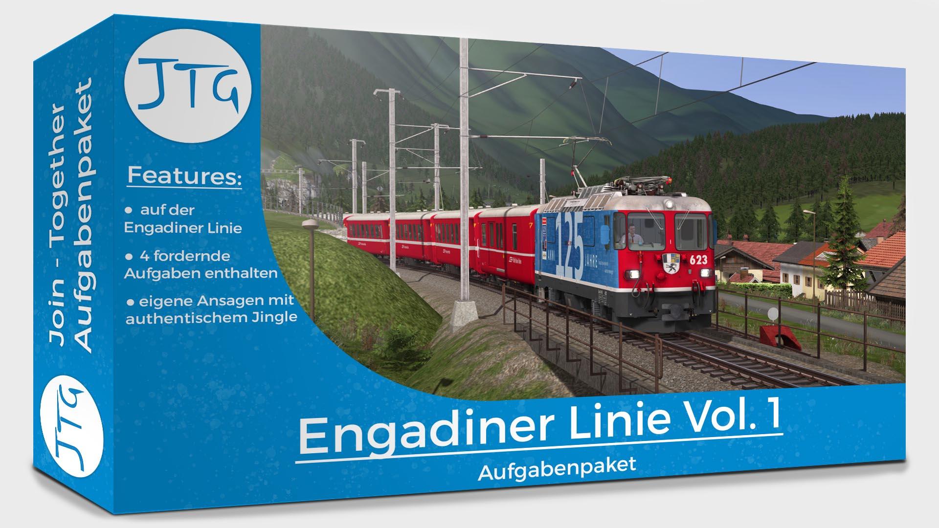 JTG – Engadin Line Scenario Pack Vol. 1