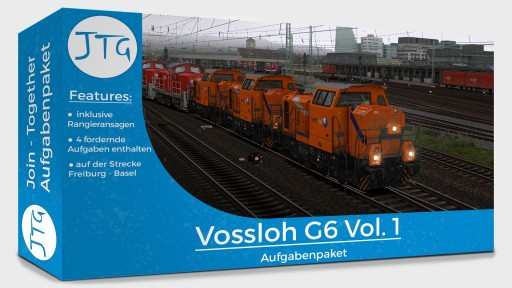 JTG - Vossloh G6 Scenario Package Vol. 1