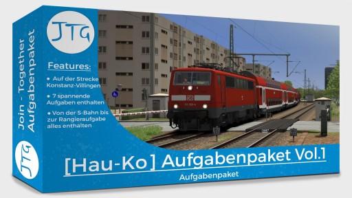 JTG [Hausach - Konstanz] Sceanrio Pack Vol.1