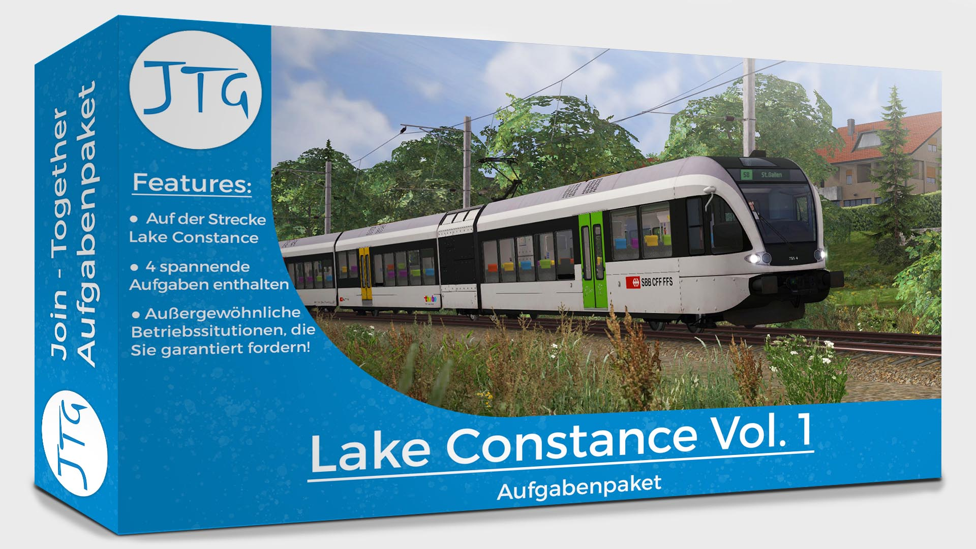 JTG Lake Constance Scenario Pack Vol. 1