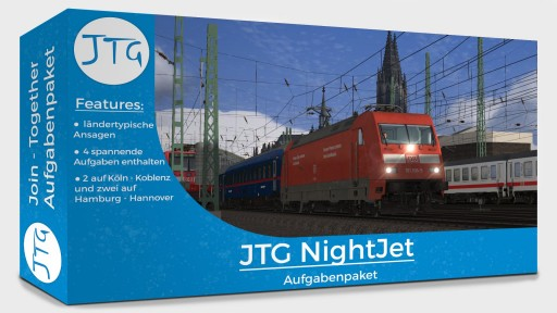 """JTG """"OEBB NightJet"""" Scenario Pack"""
