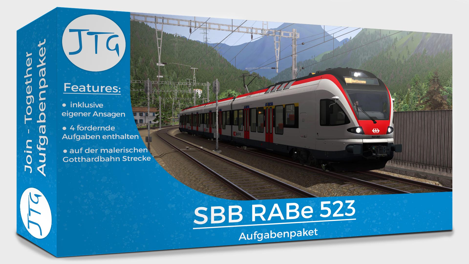 JTG RABe 523 Scenario Pack Vol. 1