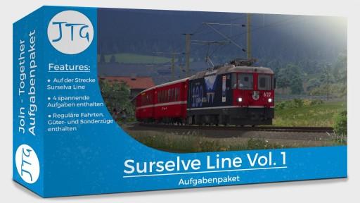 JTG Surselva Line Aufgabenpaket Vol. 1
