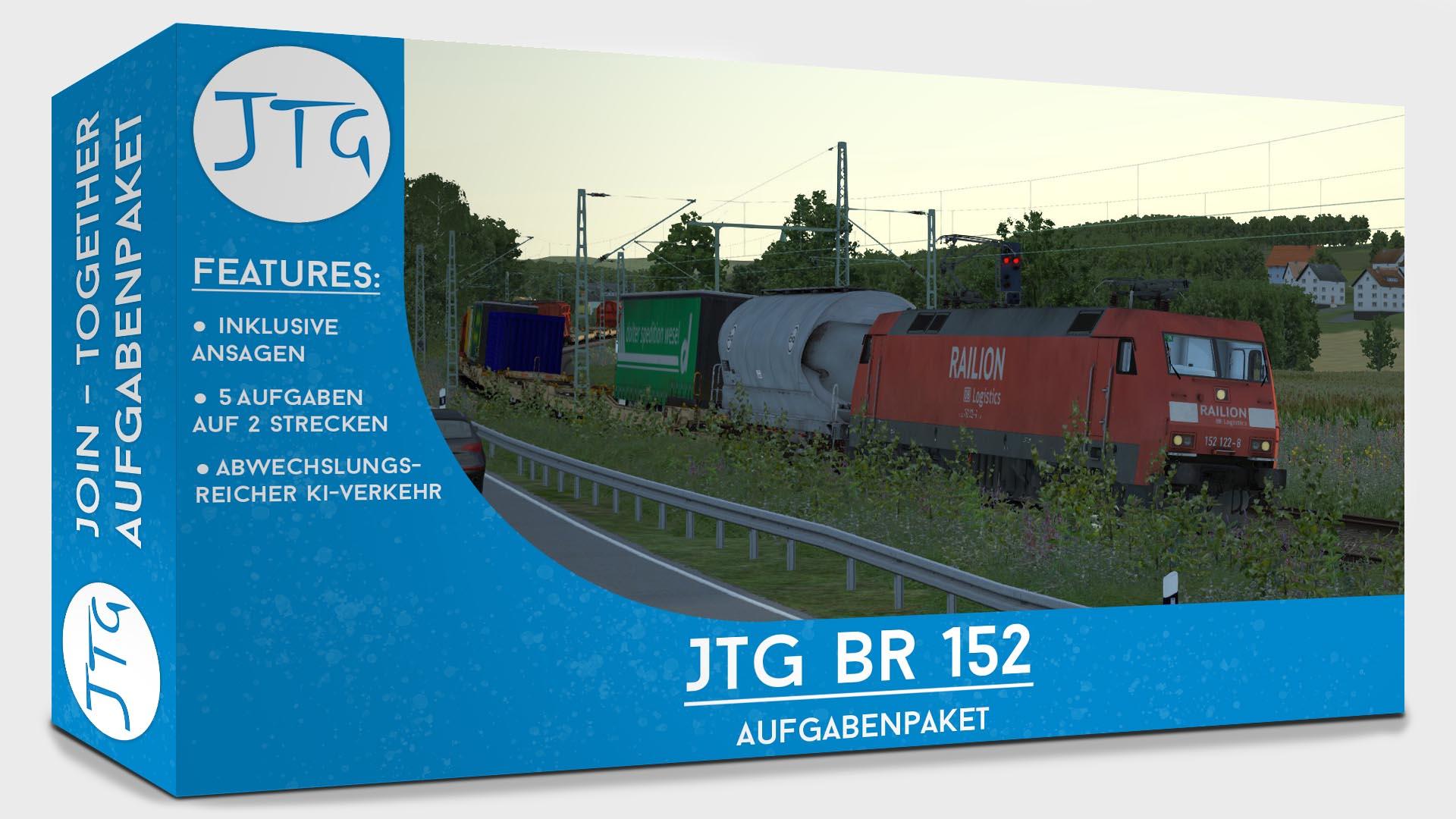 JTG Scenario Package BR152 ExpertLine
