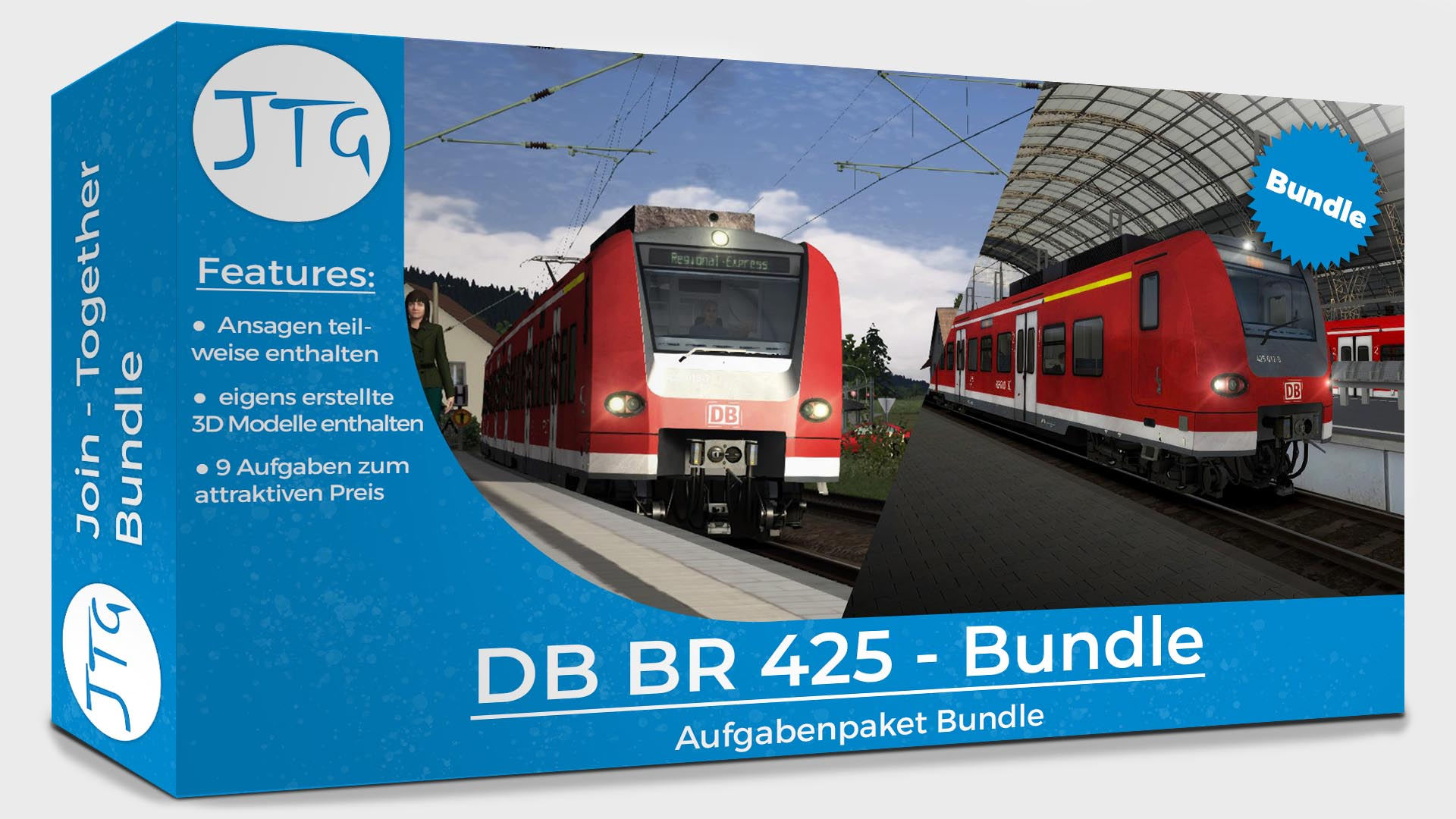 JTG Bundle: On Tour with the BR425