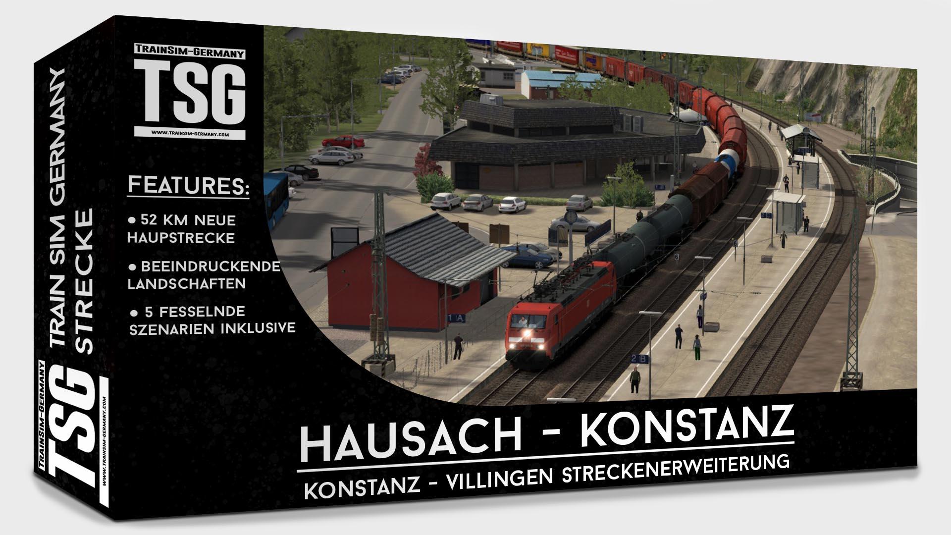 Hausach - Konstanz (A Konstanz - Villingen route extension)