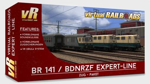 DB BR141 BDnrzf Blau-Beige