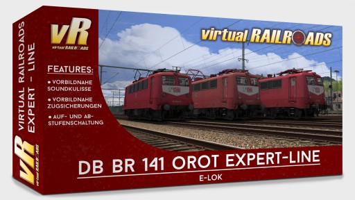 DB BR141 O-Red Expert Line