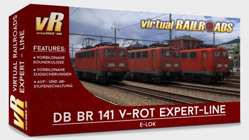 DB BR141 Traffic-red Expert Line