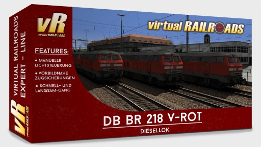 DB BR218 Traffic red Expert Line